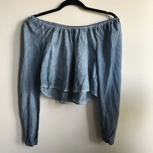 Free People off the shoulder top size XS